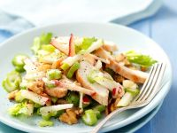 Chicken, Apple, and Celery Salad recipe