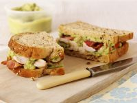 Chicken, Bacon, and Avocado Sandwiches recipe