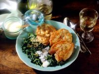 Chicken Breast on Spinach recipe