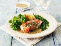 Chicken Breast with Green Beans recipe