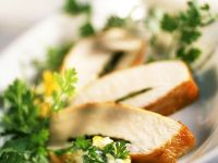 Chicken Breast with Herb Sauce recipe
