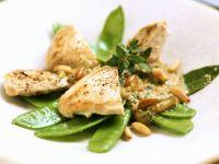Chicken Breast with Peas recipe