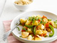 Chicken Breast with Peppers and Pineapple recipe