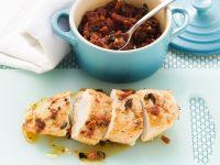 Chicken Breast with Pork and Tomato recipe