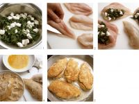 Chicken Breasts Stuffed with Spinach recipe