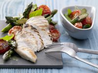 Chicken Breasts with Asparagus recipe