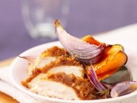 Chicken Breasts with Nectarines and Red Onions recipe