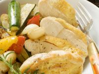 Chicken Breasts with Stir Fried Vegetables recipe