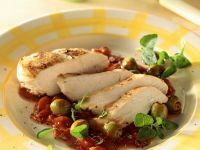 Chicken Breasts with Tomato-Herb Sauce recipe