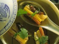 Chinese Broth with Parcels recipe