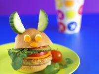 Chicken Burger for Kids recipe