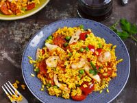 Mixed Meat and Seafood Rice recipe