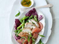 Chicken, Citrus, and Asparagus Platter recipe