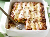 Chicken, Corn and Arugula Cannelloni recipe
