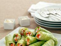 Chicken Cucumber Salad Wraps recipe