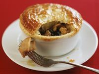 Chicken Curry Pie with Puff Pastry recipe