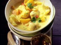 Chicken Curry with Cauliflower and Mango recipe