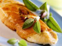 Chicken Cutlets Wrapped in Prosciutto recipe