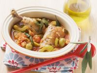 Chicken Drumsticks with Vegetables recipe