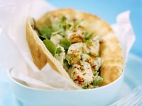 Chicken-filled Pittas recipe