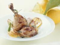 Garlic and Rosemary Chicken with Lemon recipe