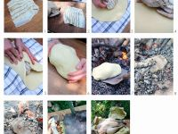 Chicken in Salt Dough recipe