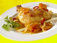 Fruity Chicken Pieces recipe