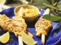 Chicken Lemongrass Brochettes recipe