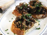 Chopped Liver Toasts recipe