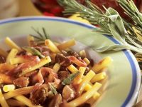 Chicken Liver with Penne recipe