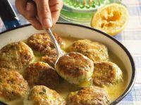 Chicken Meatballs in Citrus Beer Sauce recipe