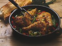Chicken Nicoise with Bell Peppers recipe