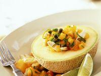 Chicken, Papaya and Mango Salad recipe