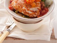 Chicken Piccata with Tomato Sauce recipe