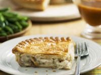White Meat Puff Pastry Pie recipe