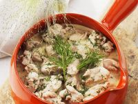 Chicken Ragout with Cream Sauce recipe