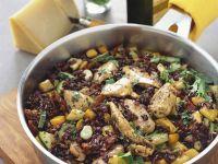 Chicken Risotto with Pesto recipe