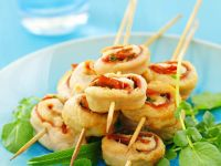 Chicken Roulade Skewers recipe