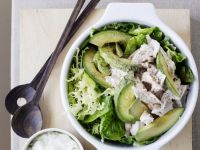 Chicken Salad Bowl with Yogurt Sauce recipe
