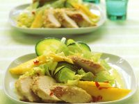 Chicken Salad with Coconut-curry Dressing recipe