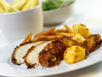 Chicken Schnitzel with Potatoes recipe