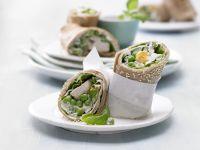 Chicken-Sesame Wraps recipe