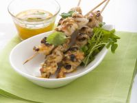 Chicken Skewers with Sweet Chilli Dip recipe