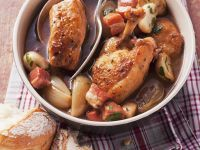 Chicken with Pancetta and Mushrooms recipe