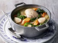 Chicken Stew with Cabbage and Carrots recipe