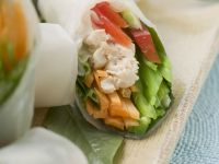 Chicken Summer Rolls recipe