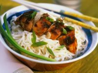 Chicken Teriyaki with Udon Noodles recipe