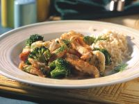 Chicken with Broccoli and Cauliflower recipe