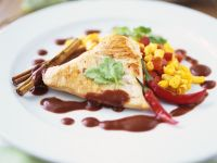 Chicken with Chilli and Chocolate recipe