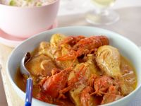 Chicken with Crawfish recipe